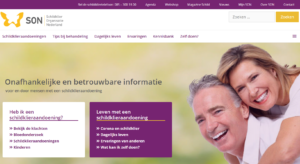 scherm homepage